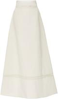 Isabel Marant Riley Cotton Linen Maxi Skirt