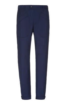 Lanvin Wool and Mohair-Blend Slim-Leg Pants