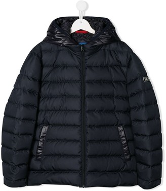 Fay Kids Padded Hooded Coat