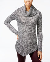 Amy Byer Juniors' Asymmetrical Cowl-Neck Sweater