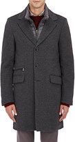 Moorer Men's Wool-Cashmere Coat-GREY