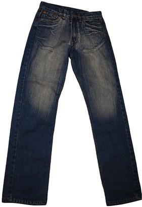 Levi's 501 Blue Denim - Jeans Jeans
