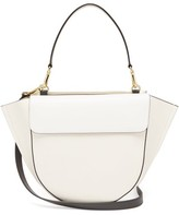Wandler Hortensia Medium Grained-leather Shoulder Bag - Womens - White
