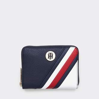 Tommy Hilfiger TH Stripe Zip Around Wallet