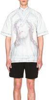 Givenchy V Neck Jesus Tee
