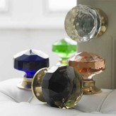 Graham and Green Large Glass Door Knobs