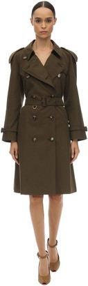 Burberry WESTMINSTER COTTON CANVAS TRENCH COAT