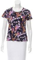 Carven Abstract Print Short Sleeve T-Shirt