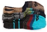 Sperry Men's Countryman 3-Pack No-Show Liner Socks