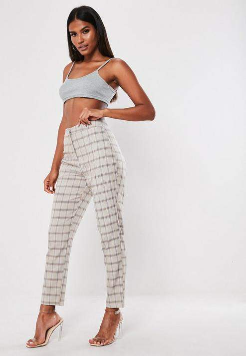 00385f194a74 Missguided Gray Women's Pants - ShopStyle