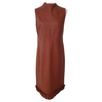 Bally Brown Leather Dress for Women