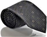 Gucci THEO Men's GG Woven Silk Necktie