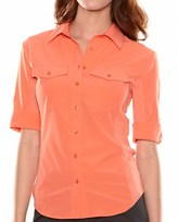 Lucy Walkabout Shirt - Button Front, 3/4 Sleeve (For Women)