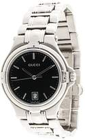 Gucci Pre Owned 9040M midsize wrist watch