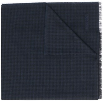 Tom Ford Check Pattern Scarf