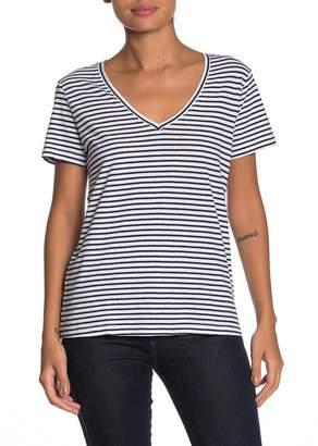Lucky Brand Stripe Pocket T-Shirt