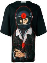 Christopher Kane oversize T-shirt - men - Cotton - XS