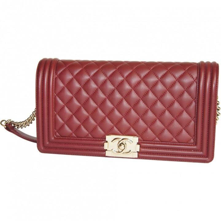 f3d1e8a610c2 Burgundy Chanel Bag - ShopStyle