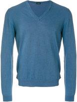 Zanone classic knitted sweater - men - Cotton - 46