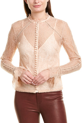 Nicholas Carnation Lace Top