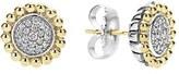 Lagos Women's Diamond Caviar Stud Earrings