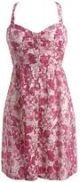Aeropostale Hibiscus Button-Down Woven Dress