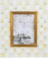 Mackenzie Childs Parchment Check Enamel Frame