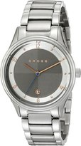 Cross Men's CR8026-33 Van Alen Analog Display Japanese Quartz Silver Watch