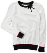 Kate Spade Girls 7-16) Ribbon Sweater