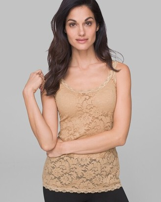 Soma Intimates Stretch Lace Unlined Tank