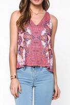 Everly Farah Printed Top