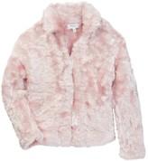 Milly Minis Knit Faux Fur Jacket (Toddler & Little Girls)