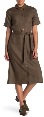 525 America Linen Shirt Dress