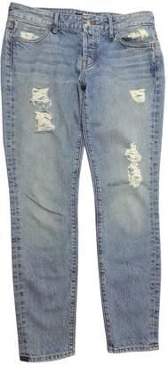 Koral Blue Cotton Jeans