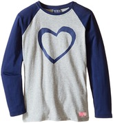 Toobydoo Hip and Cool Heart Tee (Toddler/Little Kids/Big Kids)