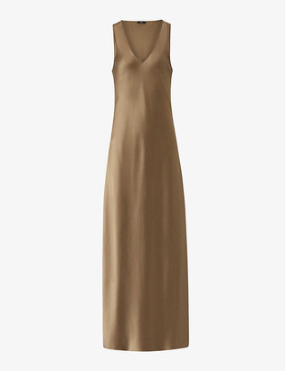 Joseph Daris silk maxi dress