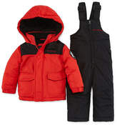Weatherproof Heavyweight Snow Suit-Baby Boys