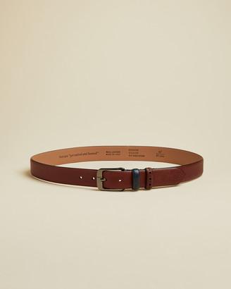 Ted Baker AUDER Brogue detail leather belt