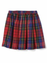 Gap Plaid flippy skirt