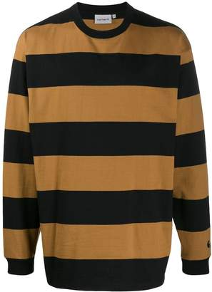 Carhartt WIP long sleeved striped sweater