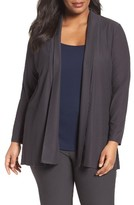 Eileen Fisher Plus Size Women's Washable Stretch Crepe Jacket