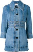 Marni belted denim jacket