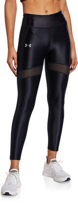 Under Armour Qualifier Speedpocket Crop Leggings
