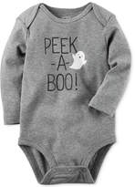 Carter's Peek-A-Boo Glow-In-The-Dark Cotton Bodysuit, Baby Boys and Girls (0-24 months)