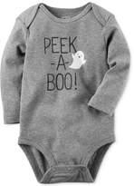 Carter's Peek-a-Boo Glow-In-The-Dark Cotton Bodysuit, Baby Boys & Girls (0-24 months)