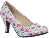 Women's T.U.K. Original Footwear Ditsy Day of the Dead Pump