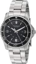 Victorinox Women's 241701 Maverick Analog Display Swiss Quartz Silver Watch