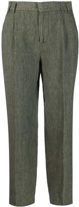 Aspesi Linen Cropped Trousers