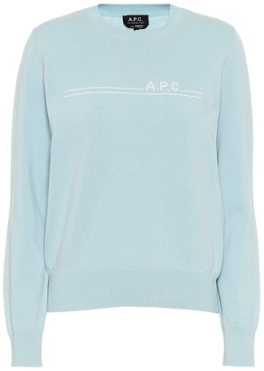 A.P.C. Cotton and cashmere sweater