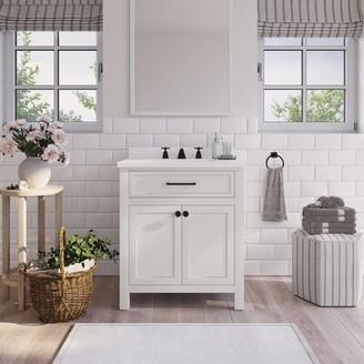 "Martha Stewart Bedford Oakland 30"" Single Bathroom Vanity Set"